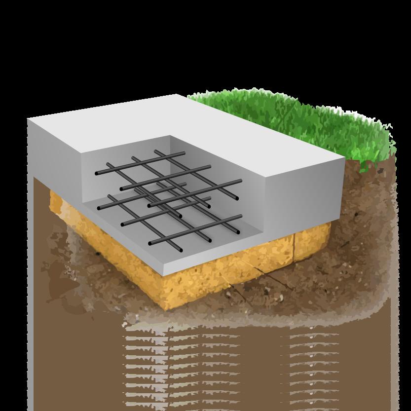плитный фундамент Егорьевск (монолитная плита)