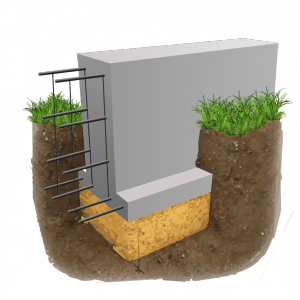 фундамент с опорной подошвой